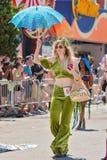 Le trente-sixième défilé annuel de sirène Image libre de droits