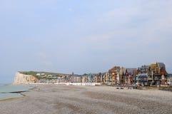 Le Treport beach Royalty Free Stock Image