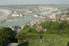 Le treport in France Stock Image