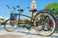Le tricycle Photo libre de droits