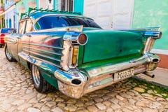 LE TRINIDAD, CUBA - 8 SEPTEMBRE 2015 : Vieil Américain Photo libre de droits