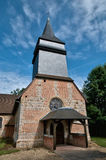 Le Tronquay church in Normandie Royalty Free Stock Photo