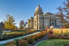Le trottoir mène à la capitale de l'État de l'Idaho Photographie stock