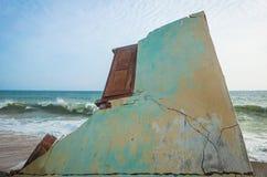 Le tsunami reste Images stock