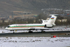 LE TU - 154 M Photos stock