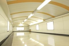 Le tunnel à Changhaï, Chine Photographie stock libre de droits