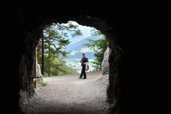 Le tunnel Photo stock