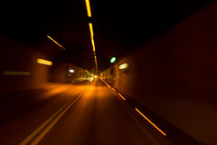 Le tunnel Image stock