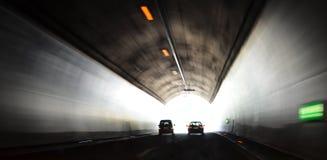 Le tunnel Photos stock
