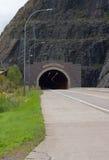 Le tunnel argenté de crique Photo libre de droits