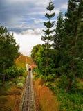 Le tunnel au ciel Image libre de droits