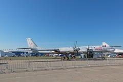 Le Tupolev Tu-95 Images stock