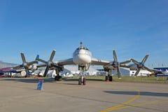 Le Tupolev Tu-95 Photographie stock