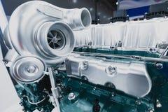 Le turbocompresseur de voiture images stock