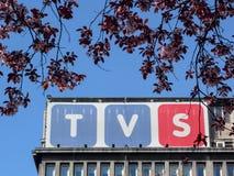 Le TV firmano immagini stock libere da diritti