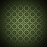 Le type de cru de vert de conception graphique Photographie stock libre de droits