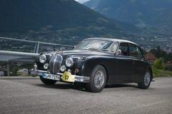 Le Tyrol du sud cars_2014_Jaguar classique Mk 2 Image libre de droits