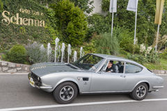 Le Tyrol du sud Rallye 2016_FIAT Dino Photo libre de droits