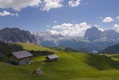 Le Tyrol méridional Photos libres de droits