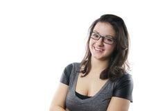 Le ung kvinna fotografering för bildbyråer