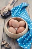 Le uova Fotografia Stock Libera da Diritti