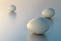 Le uova di gallina   Fotografia Stock Libera da Diritti