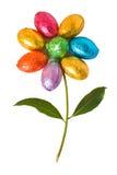 Le uova di Pasqua Hanno modellato come un fiore Fotografia Stock Libera da Diritti