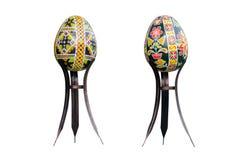 Le uova hanno dipinto Pasqua Fotografia Stock