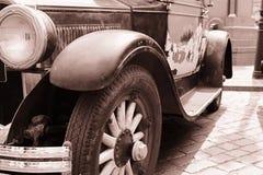Le véhicule antique Image stock