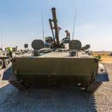 Le véhicule de combat d'infanterie BMP-3, vue de face Photos stock