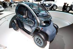 Le véhicule de concept de Renault ZE Image libre de droits