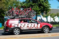 Le véhicule neutre de support de SRAM Photographie stock