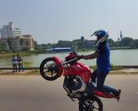 Le vélo arrête des événements de promotion à Jaffna photos libres de droits