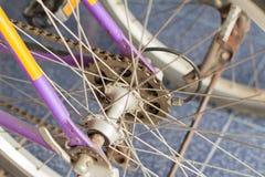 Le vélo de montagne embraye la cassette Photographie stock