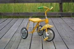 Le vélo des enfants Images stock