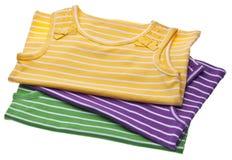Le vêtement des enfants vibrants Photos stock