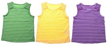 Le vêtement des enfants vibrants Photos libres de droits