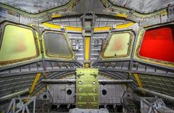 Le vaisseau spatial non fini de carlingue images libres de droits