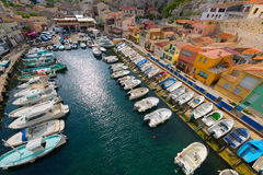 Le vallon des Auffes in a summer day Royalty Free Stock Photos