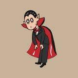 Le vampire stupéfient Photo libre de droits
