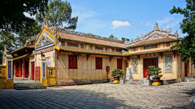 Le Van Duyet temple, history worship place Stock Photos
