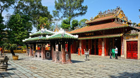 Le Van Duyet temple, history worship place Stock Image