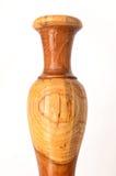 Le vase en bois Photo libre de droits