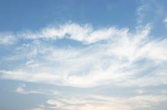 Le vaste ciel bleu et ciel de nuages Image libre de droits