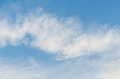 Le vaste ciel bleu et ciel de nuages Photos stock
