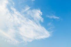 Le vaste ciel bleu et ciel de nuages Photo libre de droits