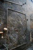 Le vecchie abitazioni della città nella vecchia città di Luoyang fotografia stock