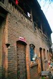 Le vecchie abitazioni della città nella vecchia città di Luoyang fotografie stock libere da diritti