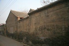 Le vecchie abitazioni della città nella vecchia città di Luoyang fotografie stock