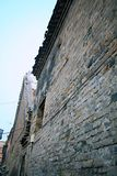 Le vecchie abitazioni della città nella vecchia città di Luoyang immagini stock